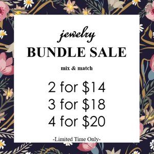 ❤️ 4 for $20 JEWELRY SALE ❤️